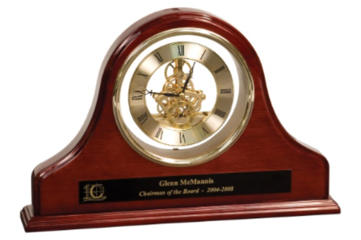grand mantel clock